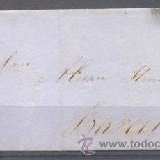Sellos: 1862.- CUEVAS DE VERA (ALMERIA) A BARCELONA. Lote 31681147