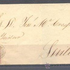 Sellos: 1859.- FUENTE DE CANTOS (BADAJOZ) A FRANCIA. Lote 31691557
