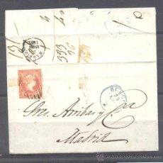 Sellos: 1857.- BURGOS A MADRID. Lote 31798120