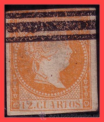 1856 ISABEL II, EDIFIL Nº NE1AS (Sellos - España - Isabel II de 1.850 a 1.869 - Nuevos)