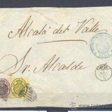Sellos: 1857.- CADIZ A ALCALA DEL VALLE . Lote 32030320
