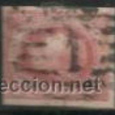 Sellos: 1663-SELLO CLASICO ISABEL II MATASELLOS PARRILLA REJILLA Nº1 MADRID.. Lote 32358357