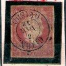 Sellos: ISABEL II - EMISION 1856 - 4 CU.(TIPO II) FECHADOR TIPO II DE GIJON. EDIFIL Nº 48 A. Lote 32378283