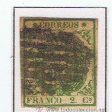 Sellos: ISABEL II ESCUDO 1854 EDIFIL 32 VALOR 2012 CATALOGO 690 EUROS . Lote 34088063
