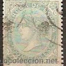 Sellos: SELLO ESPAÑA REINADO ISABEL II EDIFIL 100 AÑO 1868 USADO . Lote 37438491