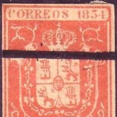Sellos: ESPAÑA. (CAT. 24). 6 CTOS. FALSO FILATÉLICO TIPO II. ANULADO CON LÍNEA A PLUMA (MUESTRA). MAGNÍFICO.. Lote 37784274