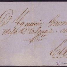 Sellos: ESPAÑA. (CAT. 75A). 1865. FRONTAL DE SANLUCAR A CÁDIZ. 4 CTOS. MAT. * SANLUCAR/CÁDIZ *. MAGNÍFICO.. Lote 23396377