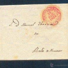 Sellos: 1851.- GUADALAJARA A ALCALA DE HENARES. Lote 41128844