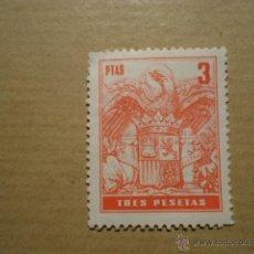 Sellos: ANTIGUO SELLO 3 PTAS TRES PESETAS PLUS ULTRA. Lote 41410464