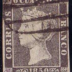 Sellos: ESPAÑA. (CAT. 1A/PCHA. II-14). 6 CTOS. VARIEDAD U CERRADA. MAT. PARRILLA DE MADRID. MAGNÍFICO. RR.. Lote 42595841