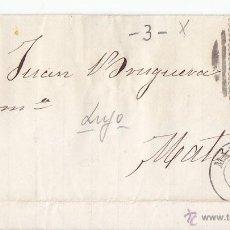 Sellos: ENVUELTA. PARRILLA CON CIFRA DE MADRID. 4 CUARTOS AZUL. 1866. EDIFIL 81. Lote 44314139