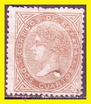1867 ISABEL II EDIFIL Nº 87 (*) (Sellos - España - Isabel II de 1.850 a 1.869 - Nuevos)