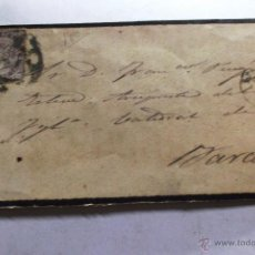 Sellos: EDIFIL Nº 98 EN CARTA COMPLETA CIRCULADA DE LEON A BARCELONA 18 SEPTIEMBRE 1869. Lote 45596622