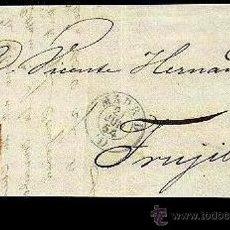 Sellos: FRONTAL EDIFIL 24 MADRID JUN 1854 (I). Lote 34109108