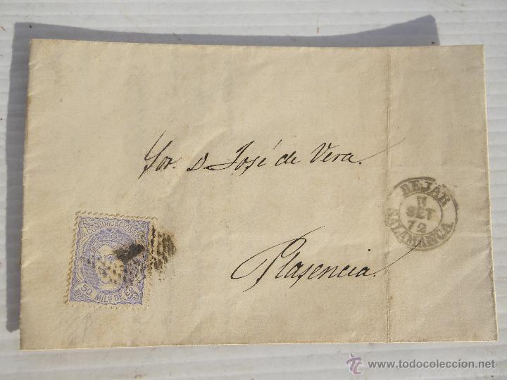 ANTIGUA CARTA CON SELLO MUY ANTIGUO . DESCONOZCO MAS .. (Sellos - España - Isabel II de 1.850 a 1.869 - Cartas)