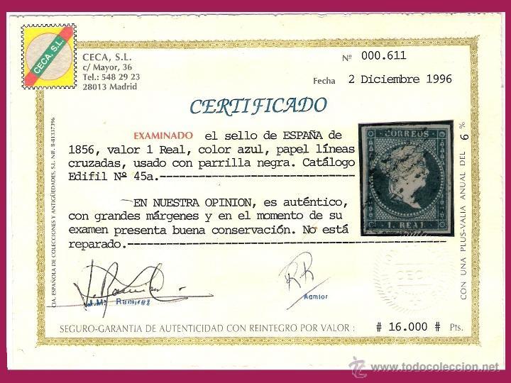 Sellos: Certificado CECA de 1996 - Foto 2 - 48891405