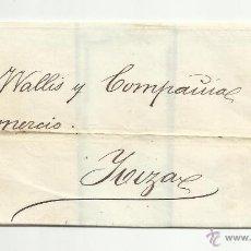 Sellos: ENVUELTA EDIFIL 98 CIRCULADO 1869 DE BARCELONA DE MALLORCA A IBIZA. Lote 50146168