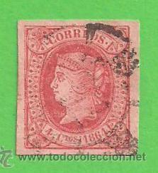 EDIFIL 64. ISABEL II. (1864). (Sellos - España - Isabel II de 1.850 a 1.869 - Usados)