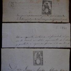 Sellos: SELLOS CLASICOS FISCALES 1866, 1870 Y 1870. ANTIGUOS SELLOS FISCALES TIMBROLOGIA FILATELIA FISC. Lote 51388211
