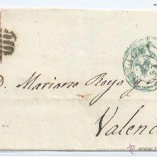 Sellos: R6/ CARTA ESPAÑA 48, AÑO 1855, SEGUN FOTO. Lote 53088762