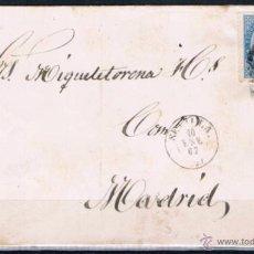 Sellos: 1867.- SEVILLA A MADRID. Lote 53105731
