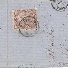 Sellos: FRAGMENTO CON SELLO NUM 98 Y FECHADOR DE REUS ---1869---. Lote 55004177