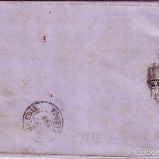 Sellos: F13-34-CARTA COMPLETA PALMA DE MALLORCA .ALCUDIA 1867. Lote 55357487