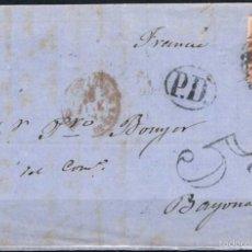 Sellos: 1868.- MADRID A BAYONA. Lote 55709218
