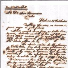 Sellos: CARTA LA HABANA - CADIZ. POR VIA DE NEW YORK . 1856.. Lote 57227575