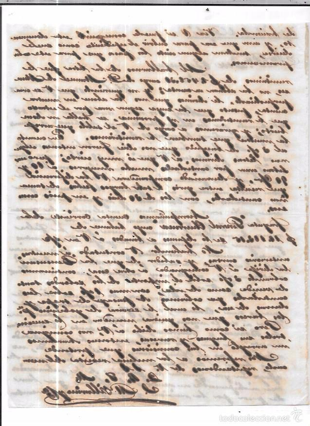 Sellos: CARTA LA HABANA - CADIZ. POR CONDE DE REGLA . 1856. - Foto 2 - 57227844