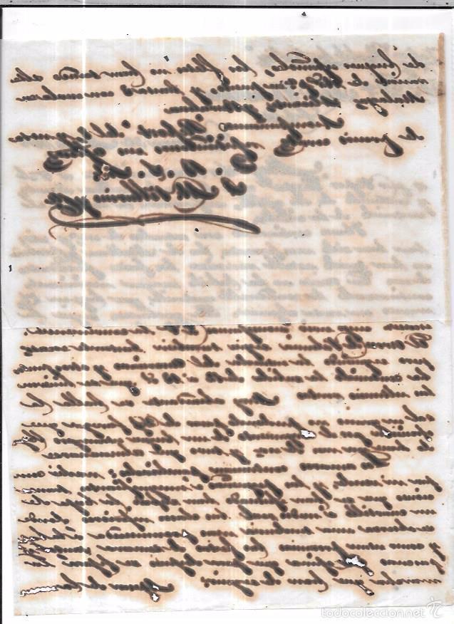 Sellos: CARTA LA HABANA - CADIZ. POR VAPOR ISABEL LA CATOLICA. 1856. - Foto 2 - 57228187