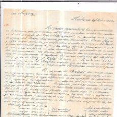 Sellos: CARTA LA HABANA - CADIZ. POR VIA NEW YORK. AÑO 1859.. Lote 57229038