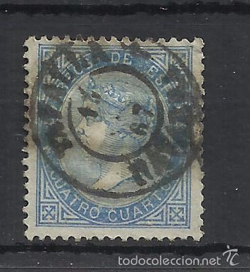 FECHADOR TAFALLA NAVARRA 1867 ISABEL II EDIFIL 88 (Sellos - España - Isabel II de 1.850 a 1.869 - Usados)