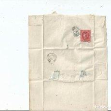 Sellos: 1864 - ENVUELTA DE BRIVIESCA A CALAHORRA - BURGOS LA RIOJA. Lote 62021392