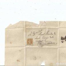 Sellos: 1862 - ENVUELTA DE CORELLA A CALAHORRA - NAVARRA LA RIOJA. Lote 62060920