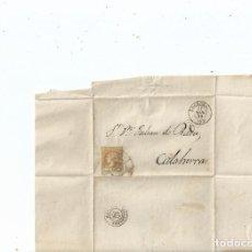 Sellos: 1862 - ENVUELTA DE LOGROÑO A CALAHORRA - LA RIOJA. Lote 62081184