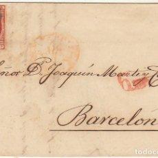 Sellos: 17. MADRID A BARCELONA 1853.. Lote 64914095