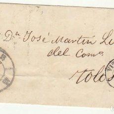 Sellos: ENVUELTA: SELLO 48. VITORIA A TOLOSA. 1859. Lote 65837070