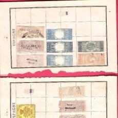 Sellos: LOTE FISCALES, GIRO, CONSULARES, RAREZAS, INTERESANTES. Lote 65996662