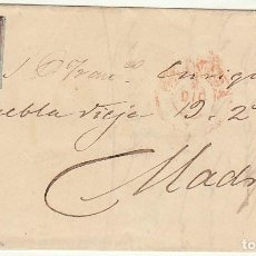 Sellos: SELLO 40. A MADRID . 1855. Lote 66518810