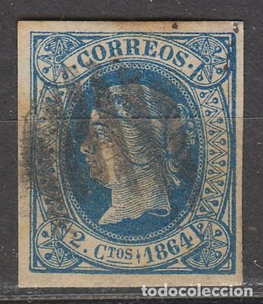 EDIFIL Nº 68, ISABEL II, USADO (Sellos - España - Isabel II de 1.850 a 1.869 - Usados)