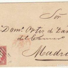 Sellos: ENVUELTA: SELLO 48. MADRID. 1856. Lote 68200925
