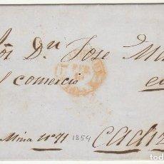 Sellos: SELLO 24. ESCUDO DE ESPAÑA. MADRID A CÁDIZ . 1854.. Lote 68728817