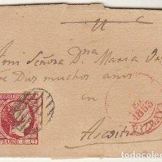 Sellos: ENVUELTA : SELLO 17. ISABEL II. AZCOITIA.1853.. Lote 69237733
