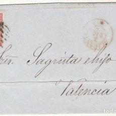 Sellos: SELLO 48 : ALICANTE A VALENCIA. 1856.. Lote 69240109