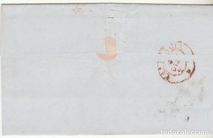 Sellos: Sello 48 : ALICANTE a VALENCIA. 1856. - Foto 2 - 69240109