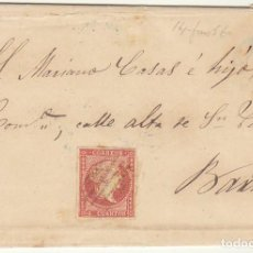 Sellos: SELLO 48 : REUS A BARCELONA. 1856.. Lote 69240529