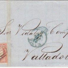 Sellos: SELLO 48. CÁDIZ A VALLADOLID. 1856.. Lote 69242193