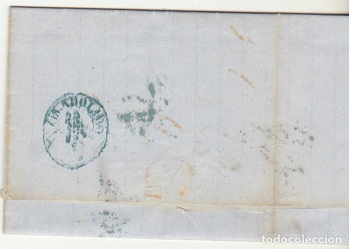 Sellos: sello 48. CÁDIZ a VALLADOLID. 1856. - Foto 2 - 69242193