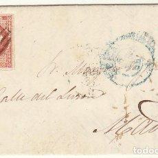 Sellos: SELLO 44. LEÓN A MADRID. 1856.. Lote 69666513